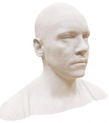 Jonathan Rhys Meyers 3D Printed Bust