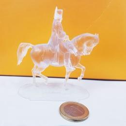 Napoleon on Horseback Miniature Print