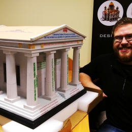 Roman Pantheon Model
