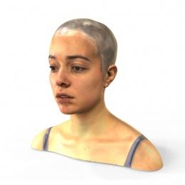 Mia - 3D Scan Render