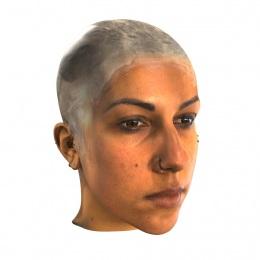 3D Scan Head Render