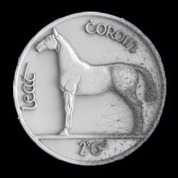 Irish Horse Coin 3D Scan