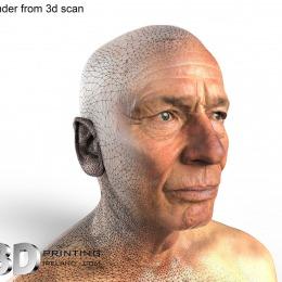 John Kavanagh - 3D Scan Render