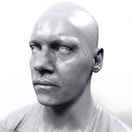 Jonathan Rhys Meyers - 3D Scan Mesh