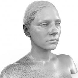 Katheyrn Winnick 3D Scan Mesh