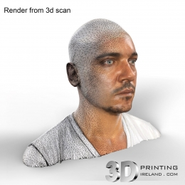 Jonathan Rhys Meyers - 3D Scan Render