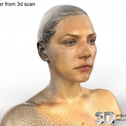 Katheyrn Winnick 3D Scan Render