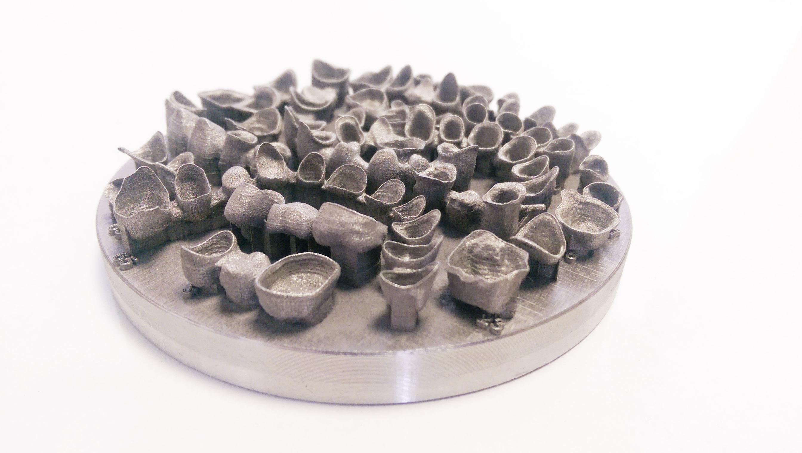 Dmp Metal Printed Dental Teeth 3d Printing Ireland3d