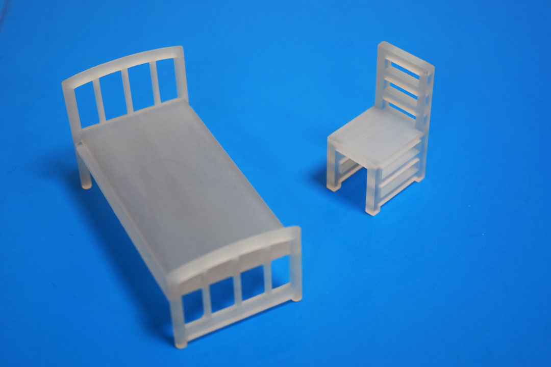 Bed and Chair Miniature Models - 3D Printing Ireland3D