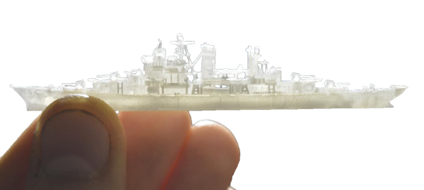 3D Systems PROJET 3500 HDMAX prints