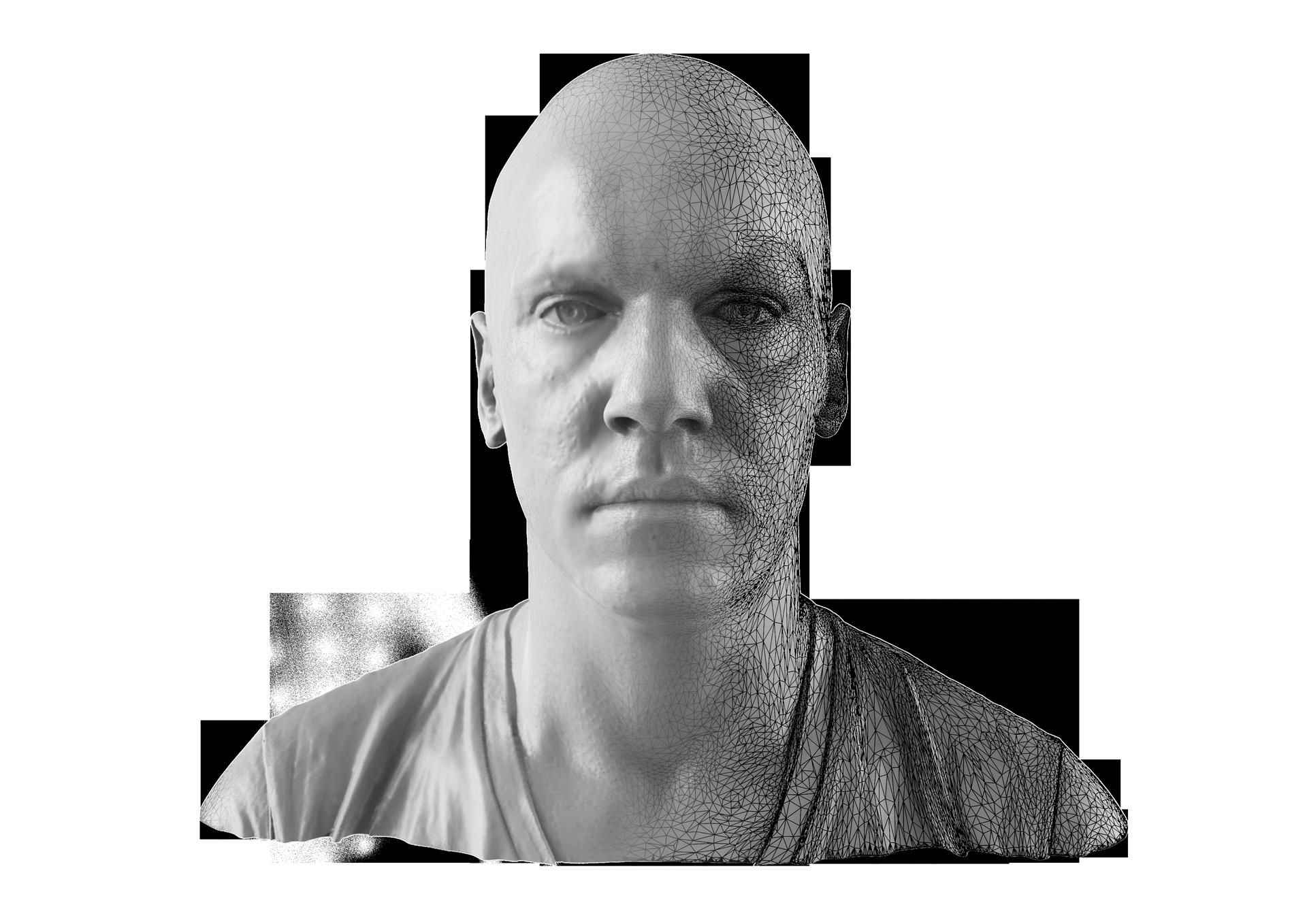 jonathan rhys meyers 3D Model