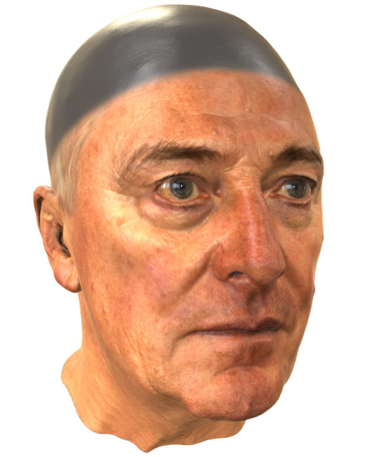 3D scan Pat Kenny Artec spider high resolution