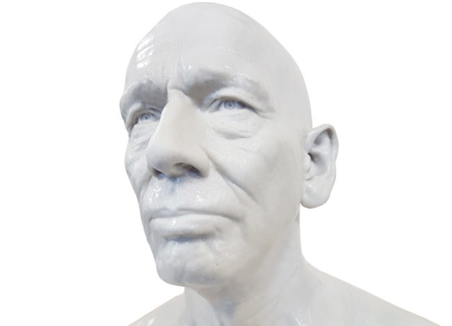 3D printed scanned