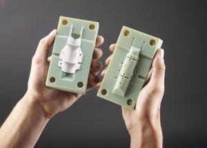 3D Printed Moulded Parts Negative