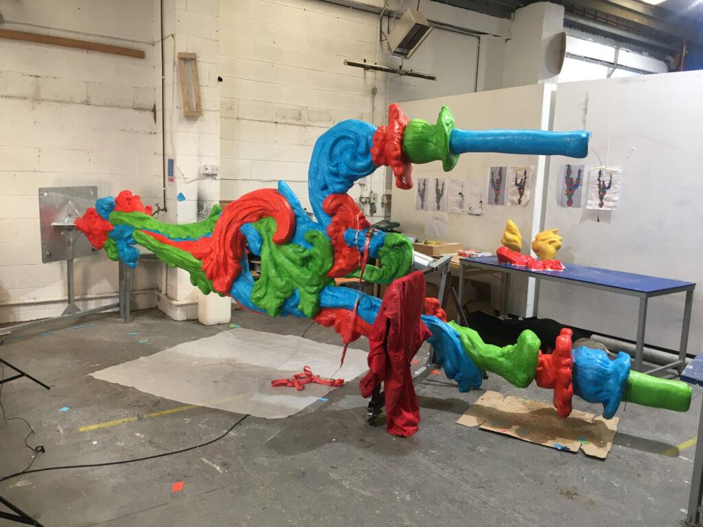 Alan Phelans Studio Hand finishing